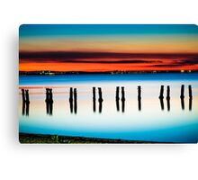Sunset at Clifton Springs Canvas Print