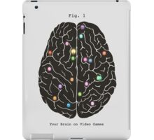Your Brain On Video Games  iPad Case/Skin