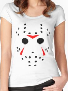 Hockey Mask Women's Fitted Scoop T-Shirt