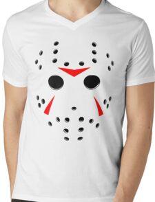 Hockey Mask Mens V-Neck T-Shirt