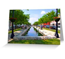 Downtown Saturday Greeting Card