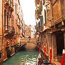 Canals Of Venice by Al Bourassa