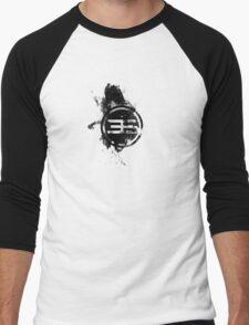 Inked Earth Crest Men's Baseball ¾ T-Shirt
