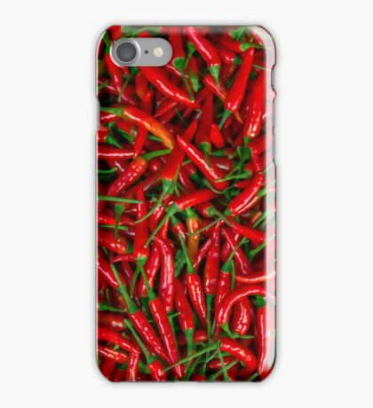 Peppers Hot! iPhone Case/Skin