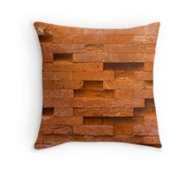 Tetris on the wall Throw Pillow