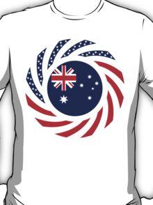 Australian American Multinational Patriot Flag Series T-Shirt