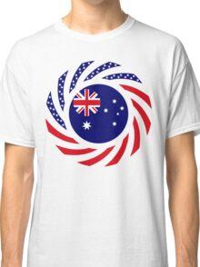 Australian American Multinational Patriot Flag Series Classic T-Shirt