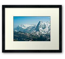 Wetterhorn and Eiger Framed Print