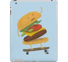 Burger Wipe-Out  iPad Case/Skin