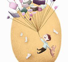 Magical Balloon Books by riaartworld
