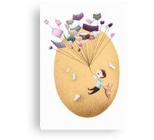 Magical Balloon Books Canvas Print