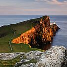 Neist Point Sunset, Isle of Skye by Thomas Peter