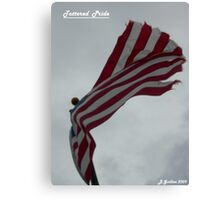 Tattered Pride Canvas Print