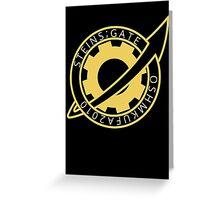 Steins;Gate El Psy Congroo Future Gadget Lab Logo Anime T Shirt Greeting Card