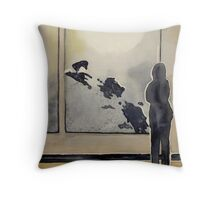 The Viewing Throw Pillow