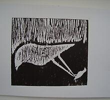 Xylography by Gabriel Treze