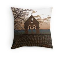 The Bells Of Santa Croce  Throw Pillow