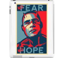 A man with no fear... iPad Case/Skin