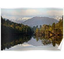 Glen Affric Reflections Poster