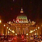 St. Peter's - Evening by Al Bourassa