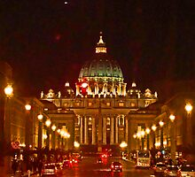 St. Peter's - Evening by Al Bourassa