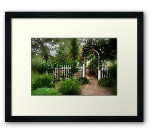 Dreamy Garden Framed Print