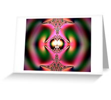 Fractal Totem Greeting Card
