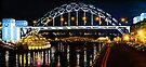 Oil Painting - Newcastle Bridge by Svetlana Sewell