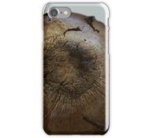 Mushroom Cap with Texture iPhone Case/Skin