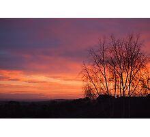 Breathtakingly beautiful sunrise Photographic Print