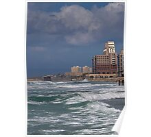 Haifa and the Sea Poster
