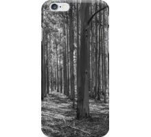 Plantation Pattern (B&W) iPhone Case/Skin