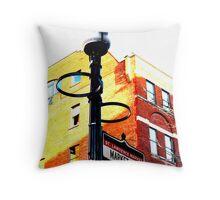 Market Street, Toronto Throw Pillow