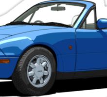 Mazda MX-5 MK1 Mariner Blue Sticker