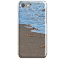 The March - Ghost Crabs (Ocypodinae) iPhone Case/Skin
