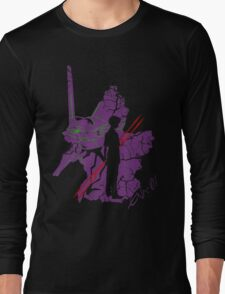 Evangelion Unit-01 Long Sleeve T-Shirt