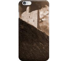 ballybunion castle and the cliff face iPhone Case/Skin