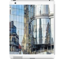 Reflections of the buildings in Stephansdom, Vienna, Austria iPad Case/Skin
