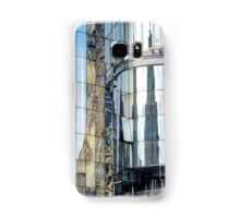 Reflections of the buildings in Stephansdom, Vienna, Austria Samsung Galaxy Case/Skin