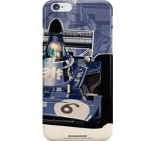 Francois Cevert - F1 1973 iPhone Case/Skin