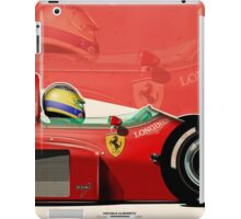 Michele Alboreto - F1 1985 iPad Case/Skin