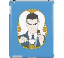 SHERLOCK - Tea Time for Sherlock - Jim Moriarty iPad Case/Skin
