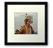 PowWow - Franklin County Columbus Ohio Framed Print