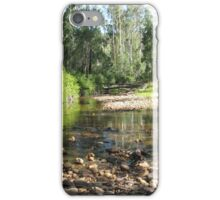 THE CREEK AT THE RIVER iPhone Case/Skin