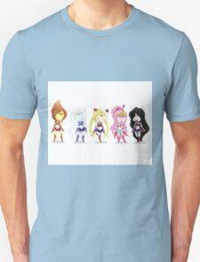 Adventure Time Sailor Scouts Fan Art T-Shirt