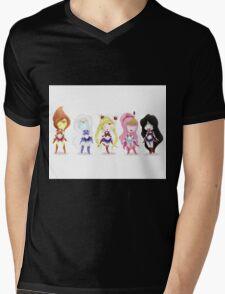 Adventure Time Sailor Scouts Fan Art Mens V-Neck T-Shirt