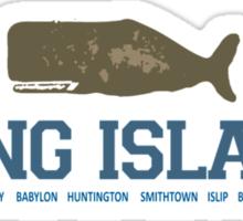 Long  Island - New York. Sticker