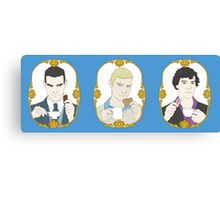 SHERLOCK - Tea Time for Sherlock - Trio Canvas Print