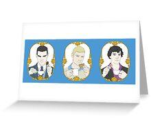 SHERLOCK - Tea Time for Sherlock - Trio Greeting Card