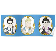 Tea Time for Sherlock - Trio Poster